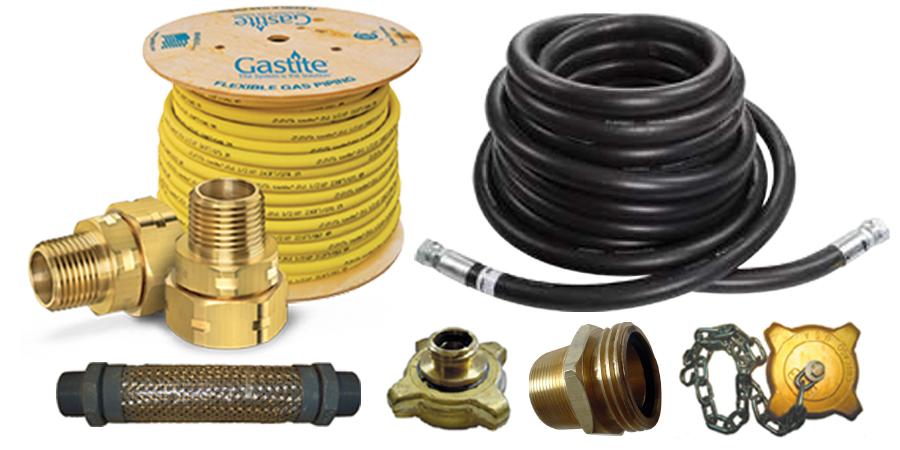 Agencements de tuyaux et autres